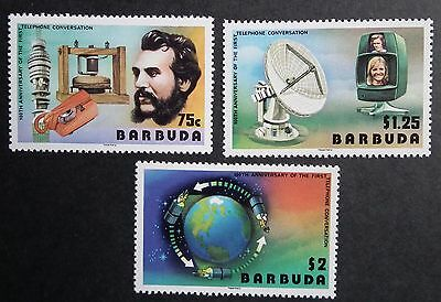 Barbuda (1977) Telephone Centenary / Science / Communications - Mint (MNH)