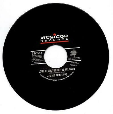 """JIMMY RADCLIFFE Long After Tonight Is All Over  NEW NORTHERN SOUL 45 60s SOUL 7"""""""