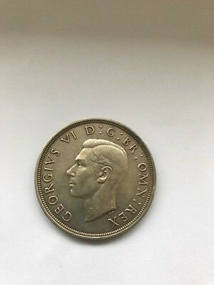 1937 George VI Wreath Crown Coin