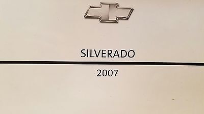 2007 Chevrolet Silverado Owner's Manual Like New FREE SHIPPING