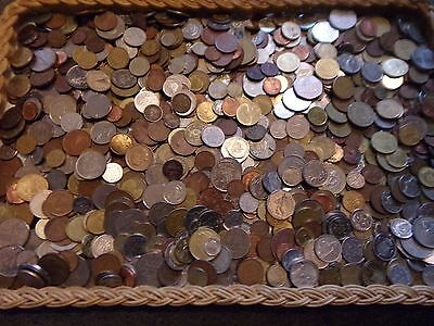 4 Kg Last Lot  Mixed World Coins!