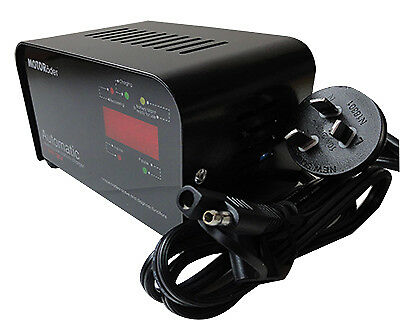Motorader Reverse Pulse 12 volt / 1.5 amp Battery Charger