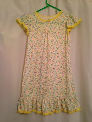 Carters Yellow Floral Nightgown Size L 8/10