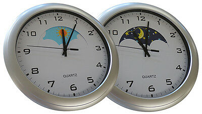 Day Night Clock For Orientation with Alzheimers Dementia In Homes And Care Homes