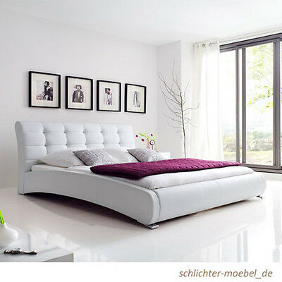 celine polsterbett kunstlederbett bett designerbett. Black Bedroom Furniture Sets. Home Design Ideas