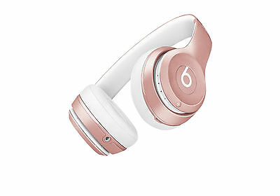 Genuine /Beats By Dr. Dre Solo2 Wireless Over Ear Headphones - ROSE GOLD