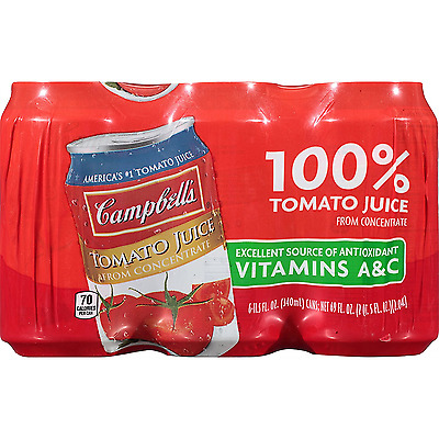 Campbell's Tomato Juice, 11.5 Ounce (Pack of 24)