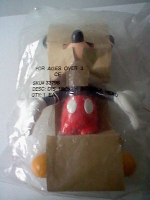 BNWT, Walt Disney's  Mickey Mouse 'Bobblehead', by Applause Mickey unlimited