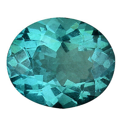 1.110Cts Brilliant Stunning Luster Blue Green Natural Apatite Oval Gemstones
