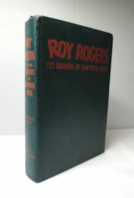 1946 Roy Rogers Raiders Of Sawtooth Ridge Book Cover by Miller USA VGVC