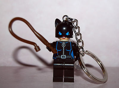Catwoman Keychain Key Ring - The Cat Woman Burglar