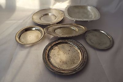 silver plated dishes plates