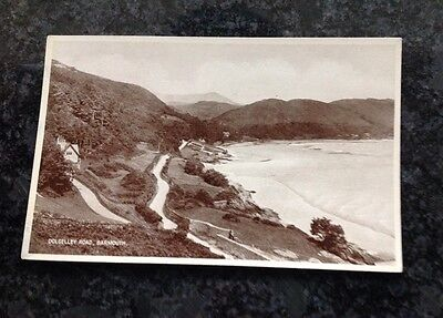 Old Postcard Of The Dolgelley Road Barmouth