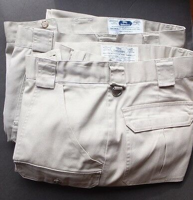 2 pairs, Men's Endurable Tilley, Pants Made in Canada Beige/Khaki Size 40
