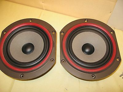 Matching Pair of Bowers and Wilkins B&W BZ 200/16 Mid Bass Woofers
