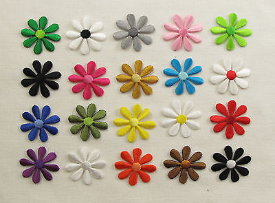 SMALL DAISY FLOWER Embroidered Iron On Sew On Patches
