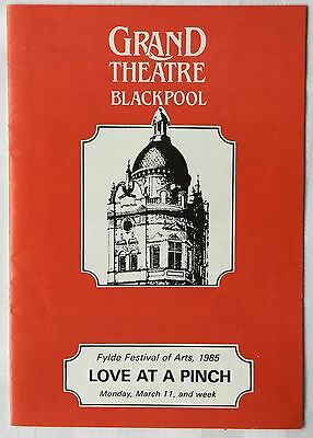 RUTH MADOC & JACK DOUGLAS at the Grand Theatre. Blackpool. 1985. Programme.