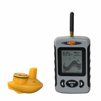 Wireless Detector Portable Fish Finder Sonar(FFW718) + Cast able Sonar