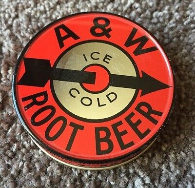 A&W Root Beer Lid with Arrow