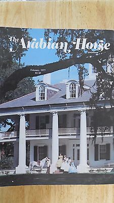 The Arabian Horse  Journal Collection Of 4---1977