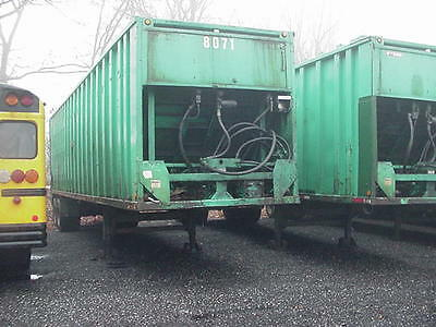 2001 Steco  75 Yard Ejector/pushout/compactor