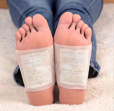 20 pcs Kinoki Herbal Detox Foot Pads Detoxification Cleansing Patches