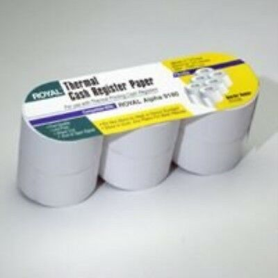 ROYAL 13127 Cash Register Roll Paper - 3 Pack