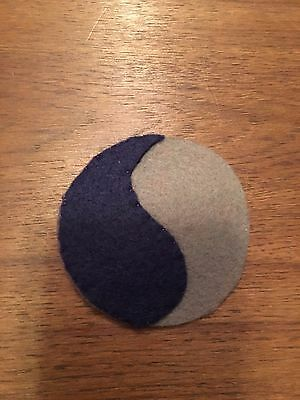 """WWI US Army patch 29th """"Blue & Gray""""  Division patch AEF"""