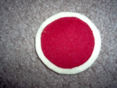 """WWI US Army patch 37th """"Buck eye""""  Division patch AEF"""