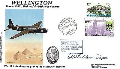 Cambridge Cover. Wellington Signed By Wo Herbert W Tape.  27/50.