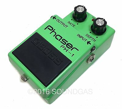 BOSS PH-1 Phaser Vintage Guitar Effect Pedal Phase Shifter