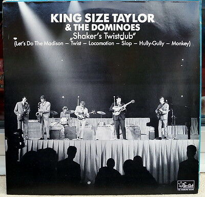 """King Size Taylor & The Dominoes """"Shaker´s Twist Club"""" RARE Rock & Roll/Beat LP"""