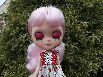 """*WEEKEND SALE* CUSTOM ICY BLYTHE DOLL  """"CANDY"""" with Summer Dress"""