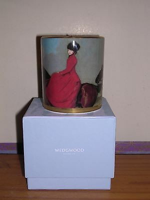 Wedgwood ~ Equestria Design ~ Candle Hold With Scented Candle ~ Boxed