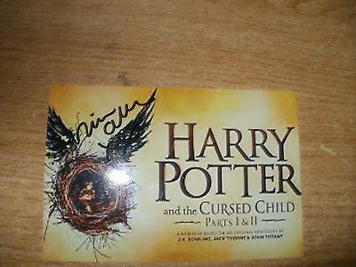 Signed Photo-Nicola Alexis-Harry Potter And The Cursed Child