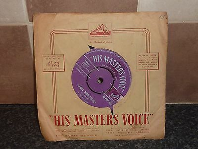 Elvis Presley 'tryin' To Get To You' Purple Label/silver Print 1957 Orig Sleeve