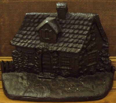 Early 1900's Cottage Cast Iron Doorstop