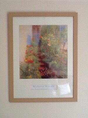 BEAUTIFUL LARGE MODERN FRAMED PICTURE, NIcholas Verrall Print