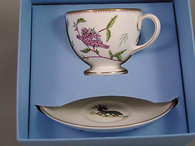 Wedgwood Kit Kemp Mythical Creatures Cup And Saucer, New, Boxed.
