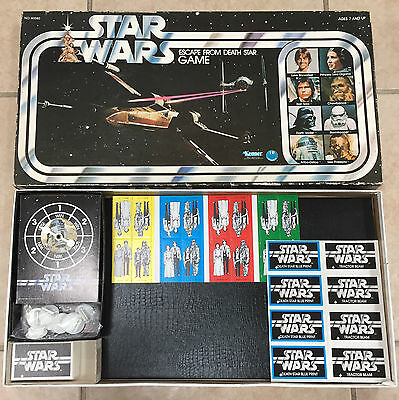 UNUSED!!! 1977 Star Wars 'Escape from the Death Star' game by Kenner, complete!