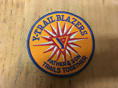 """Y-Trailblazers, Father & son Trails together Patch 4"""" New"""