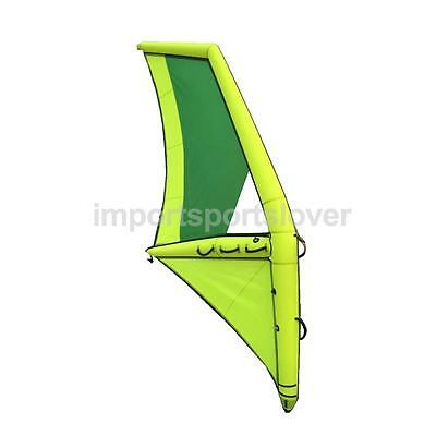 Inflatable Windsurfing Board Sail Windsurfer Sail w/ Base for Kids/Adult M