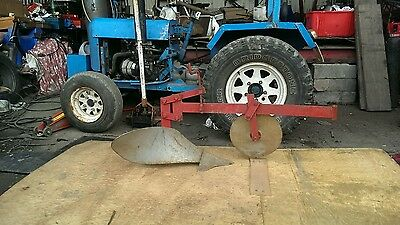 Compact Tractor Single Furrow Plough