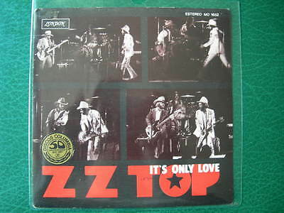 "Zz Top-""it´s Only Love ""super Rare 7"" Promo First Pressing Spanish 1976 Spain"