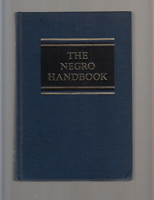 The BLACK AMERICAN handbook. Compiled by the editors of Ebony. RARE 1966