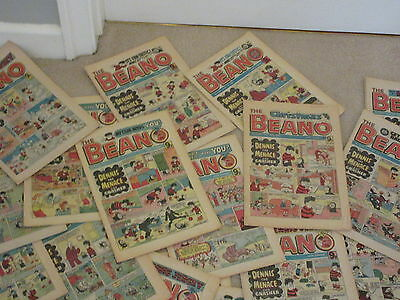 BEANO COMICS X 52 FROM 1984, COMPLETE YEAR, All in good condition-No's 2164-2215