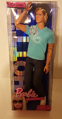2009 Fully Articulated Hip Hop Ken He Is  Mint Nrfb 100 Poses Fashionistas