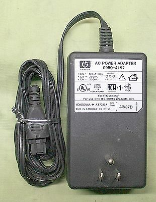 Hp Ac Adapter For Deskjet Printers 15V - 530Ma / 32V - 250Ma - 0950-4197