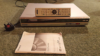 DVD Recorder and Freeview Box 160GB Hard Drive - Sony RDR-HXD860
