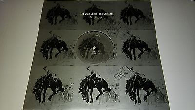 "The Osmonds V Utah Saints -  Crazy Horses 12"" Promo Fully Signed Donny"